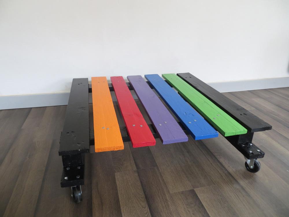 Table Basse Palette Rainbow Artacier